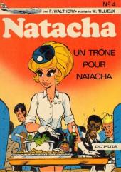 Natacha -4- Un trône pour Natacha