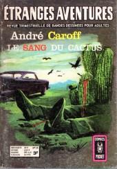 Étranges aventures (1re série - Arédit) -28- Le sang du cactus