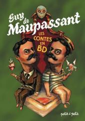 Poèmes en bandes dessinées -a- Guy de Maupassant - Les Contes en BD