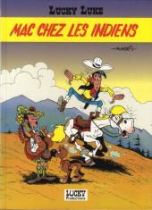 Lucky Luke (Pub et Pastiches) -Esso- Mac chez les Indiens