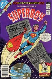 New adventures of Superboy (The) (1980) -22- The heroic failures of superboy