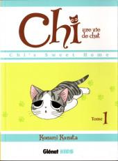 Chi - Une vie de chat (format manga) -1- Tome 1