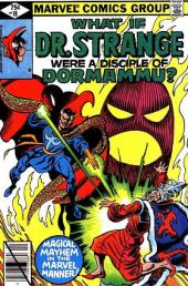 What If? vol.1 (1977) -18- What if dr. strange had been a disciple of dormammu?