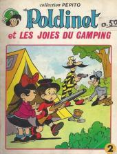 Poldinet (Sagédition - Pepito) -2- Poldinet et les joies du camping