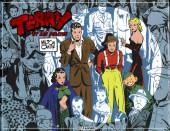 Terry et les pirates (BDartiste) -1- Volume 1 : 1934 à 1936