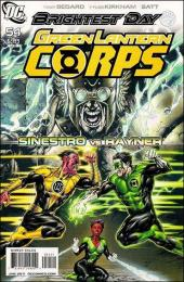 Green Lantern Corps (2006) -54- The weaponer part 2