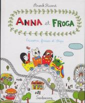 Anna et Froga -3- Frissons, fraises et chips