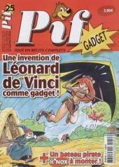 Pif (Gadget) nouvelle série -25- Une invention de Léonard de Vinci comme gadget !