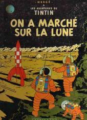 Tintin (Historique) -17B26- On a marché sur la lune