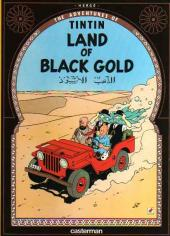 Tintin (The Adventures of) -15b- Land of Black Gold