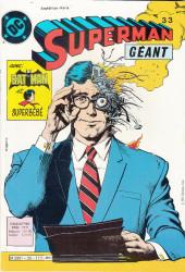 Superman Géant (Sagédition - 2e série) -33- Superman - mission sur terre !