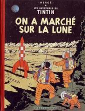 Tintin (Historique) -17B10- On a marché sur la lune
