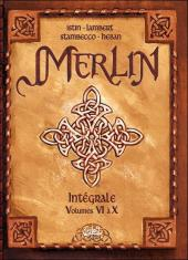 Merlin (Nucléa/Soleil) -INT2b- Intégrale tomes 6 à 10