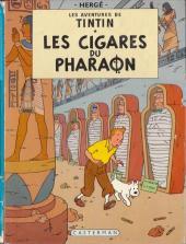 Tintin (Historique) -4B39- Les cigares du pharaon
