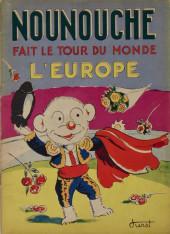 Nounouche -14- Nounouche fait le tour du monde (l'europe)