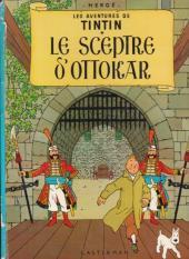Tintin (Historique) -8B38bis- Le sceptre d'Ottokar