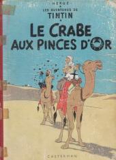 Tintin (Historique) -9B13- Le crabe aux pinces d'or
