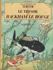 Tintin (Historique) -12B35- Le trésor de Rackham Le Rouge