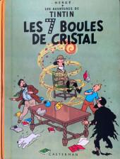 Tintin (Historique) -13B35- Les 7 boules de cristal