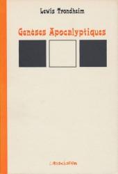 Génèses Apocalyptiques -1a- Genèses Apocalyptiques