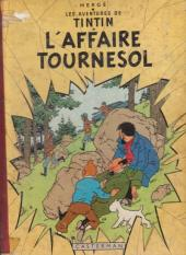 Tintin (Historique) -18B35 a- L'affaire Tournesol