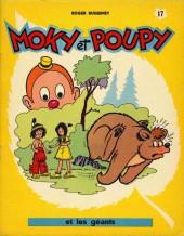 Moky et Poupy -17- Moky et Poupy et les géants