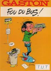 Gaston (Hors-série) -FB31- Fou du bus - T.U.T