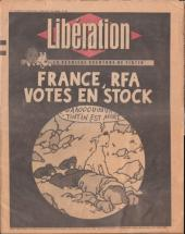 Tintin - Divers - France, RFA - Votes en stock
