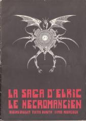 (AUT) Druillet - La Saga d'Elric le Nécromancien
