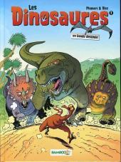 Les dinosaures en bande dessinée -1- Tome 1