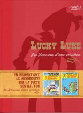 Lucky Luke - Les Dessous d'une création (Atlas) -16- En remontant le Mississippi / Sur la piste des Dalton