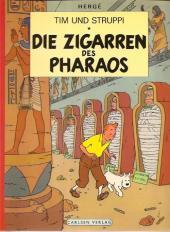 Tim und Struppi / Tim, der Pfiffige Reporter -4- Die Zigarren des Pharaos