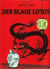 Tim und Struppi / Tim, der Pfiffige Reporter -5- Der Blaue Lotos