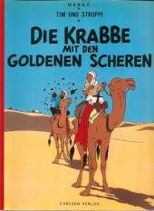 Tim und Struppi / Tim, der Pfiffige Reporter -9a1978- Die Krabbe mit den goldenen Scheren