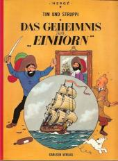 """Tim und Struppi / Tim, der Pfiffige Reporter -11- Das Geheimnis der """"Einhorn"""""""
