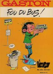 Gaston (Hors-série) -FB36- Fou du bus - ICTP