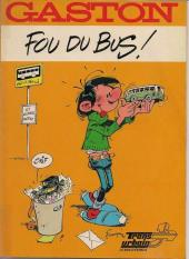 Gaston (Hors-série) -FB37- Fou du bus - Trans Urbain