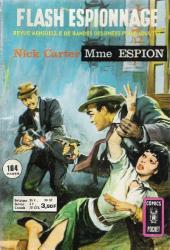 Flash espionnage (1re série) -57- Nick Carter - Mme Espion