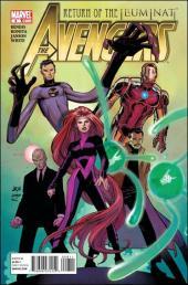 Avengers (The) (2010) -8- Return of the Illuminati