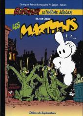 Arthur le fantôme justicier (Cézard, Éditions du Taupinambour) -5- Les martiens