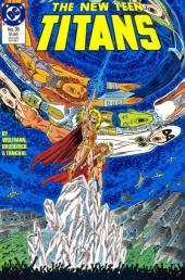 New Teen Titans Vol.2 (The) (DC comics - 1984) -35- Crystal chaos