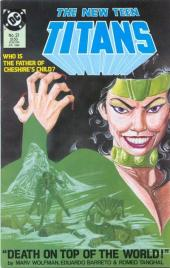 New Teen Titans Vol.2 (The) (DC comics - 1984) -21- On top of the world