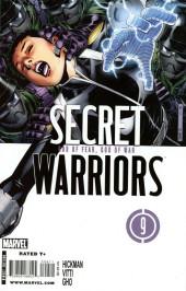 Secret Warriors (2009) -9- God of fear, god of war
