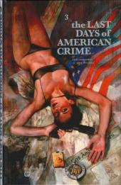 Last Days of American Crime (The) -3- Tome 3/3