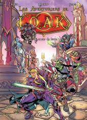 Les aventuriers de l'O.A.K. -1- Le cœur de lave
