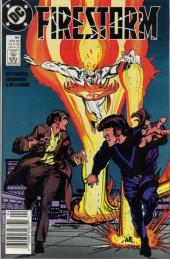 Firestorm, the nuclear man (1982) -84- Force of nature, the elemental war