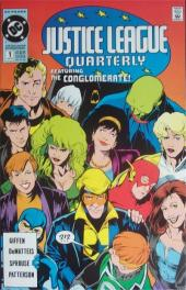 Justice League Quarterly (1990) -1- Corporate maneuvers (and leveraged buyouts)