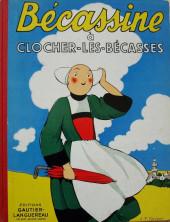 Bécassine -21b58- Bécassine à Clocher-les-Bécasses