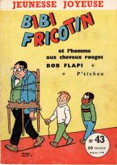 Bibi Fricotin (3e Série - Jeunesse Joyeuse) -43- Bibi Fricotin et l'homme aux cheveux rouges