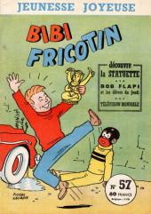 Bibi Fricotin (3e Série - Jeunesse Joyeuse) -57- Bibi Fricotin découvre la statuette